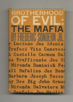 Brotherhood of Evil: The Mafia - 1st US Edition/1st Printing