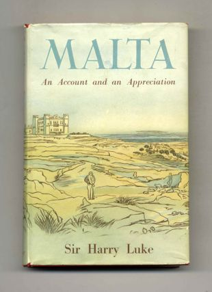 Malta. Sir Harry Luke