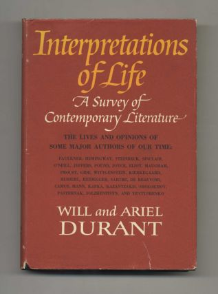 Interpretations of Life: A Survey of Contemporary Literature: The Lives and Opinions of Some...