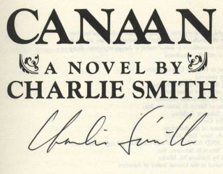 Canaan - 1st Edition/1st Printing