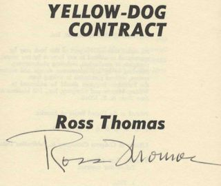 Yellow-Dog Contract - 1st Edition/1st Printing