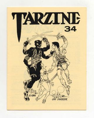 Tarzine: Number 34 - 1st Edition/1st Printing