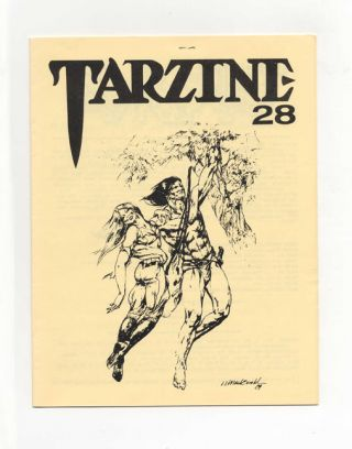 Tarzine: Number 28 - 1st Edition/1st Printing