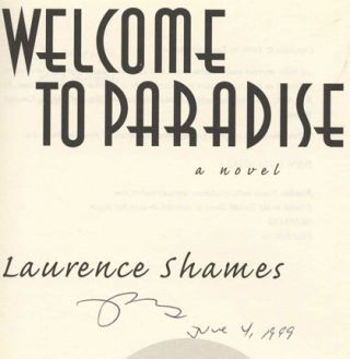 Welcome to Paradise: A Novel - 1st Edition/1st Printing