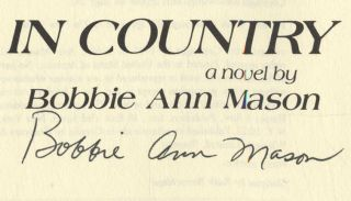 In Country - 1st Edition/1st Printing