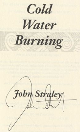 Cold Water Burning - 1st Edition/1st Printing