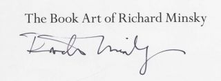 The Book Art of Richard Minsky - Limited Edition