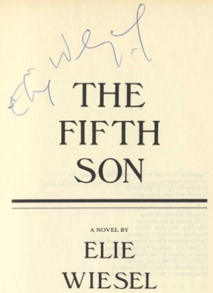 The Fifth Son - 1st English Trade Edition/1st Printing