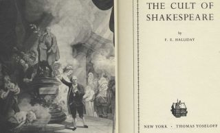 The Cult of Shakespeare - 1st US Edition/1st Printing