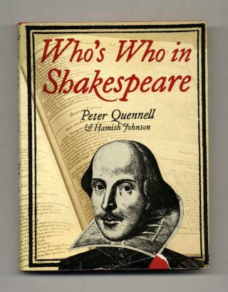 Who's Who in Shakespeare - 1st Edition/1st Printing