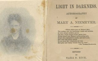 Light in Darkness: Autobiography of Mary A. Niemeyer