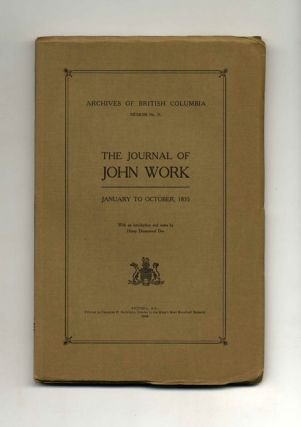 The Journal of John Work, January to October, 1835
