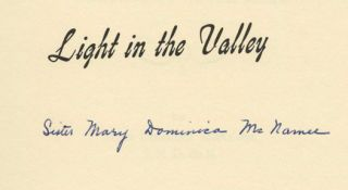 Light in the Valley: The Story of California's College of Notre Dame - 1st Edition/1st Printing
