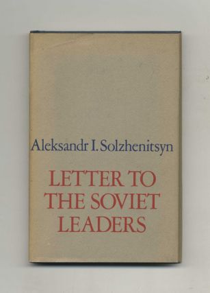 Letter To The Soviet Leaders - 1st Edition/1st Printing