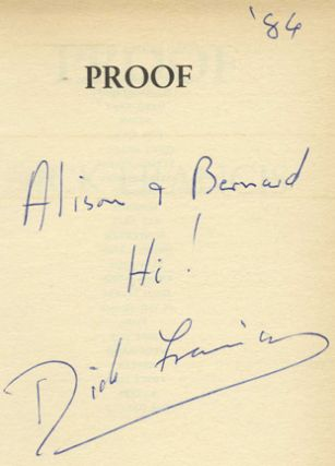 Proof - 1st Edition/1st Printing