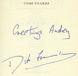 Come to Grief - 1st Edition/1st Printing
