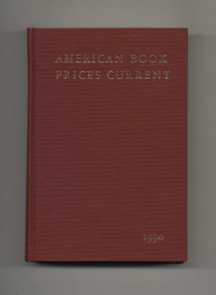 American Book Prices Current 1990