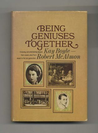 Being Geniuses Together 1920-1930 - 1st US Edition/1st Printing