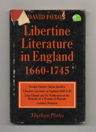 Libertine Literature in England 1660-1745 - 1st Edition/1st Printing