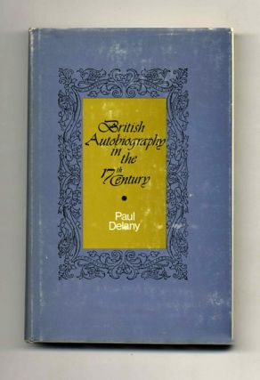 British Autobiography of the 17th Century - 1st Edition/1st Printing