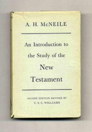 An Introduction to the Study of the New Testament