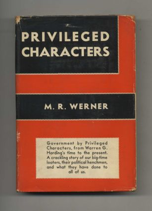 Privileged Characters. M. R. Werner