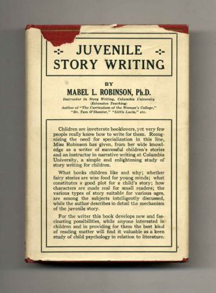 Juvenile Story Writing - 1st Edition/1st Printing