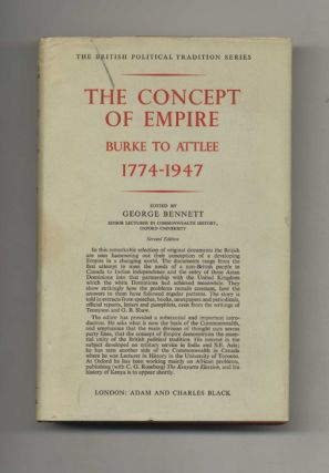 The Concept of Empire: Burke to Attlee 1774-1947