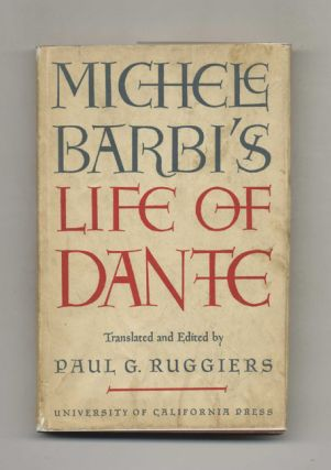 Michele Barbi's Life of Dante