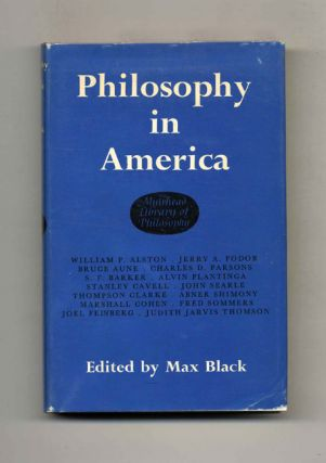 Philosophy in America