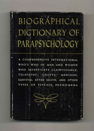 Biographical Dictionary of Parapsychology