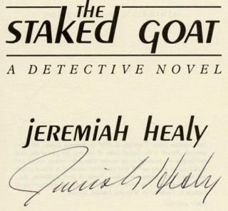 The Staked Goat: A Detective Novel - 1st Edition/1st Printing