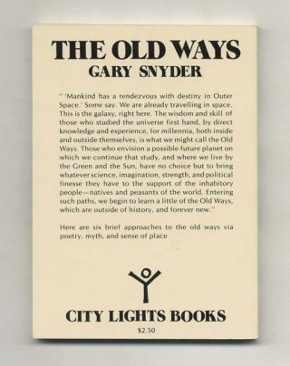 The Old Ways: Six Essays - 1st Edition/1st Printing