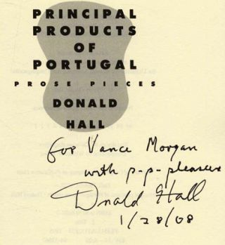 Principal Products of Portugal: Prose Pieces - 1st Edition/1st Printing