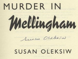 Murder in Mellingham - 1st US Edition/1st Printing