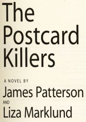 The Postcard Killers - 1st Edition/1st Printing