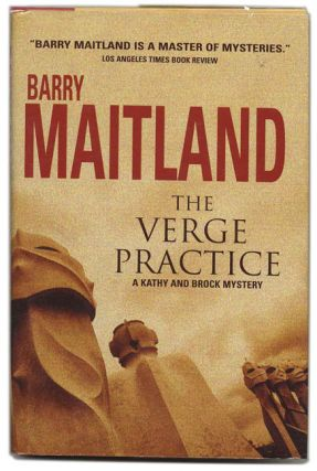 The Verge Practice - 1st US Edition/1st Printing. Barry Maitland.