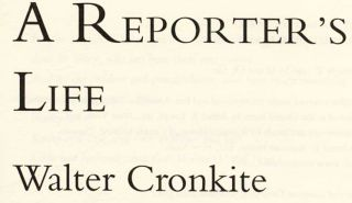 A Reporter's Life - 1st Edition/1st Printng