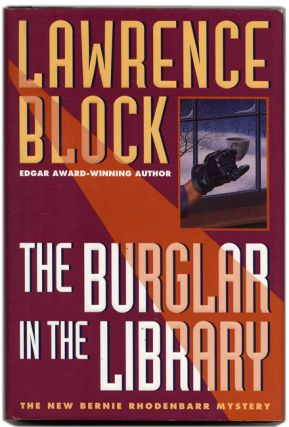 The Burglar in the Library - 1st Edition/1st Printing. Lawrence Block.