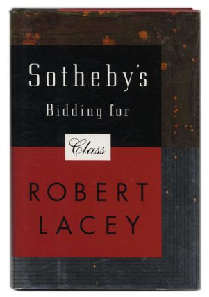 Sotheby's- Bidding for Glass - 1st Edition/1st Printing
