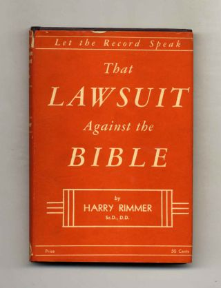 That Lawsuit Against the Bible