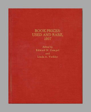 Book Prices: Used and Rare, 1997 - 1st Edition/1st Printing