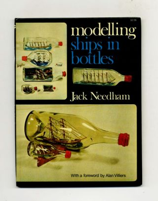 Modelling Ships in Bottles -1st US Edition/1st Printing