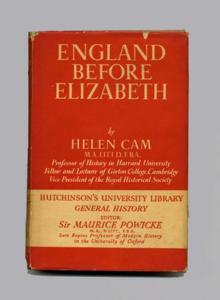 England before Elizabeth