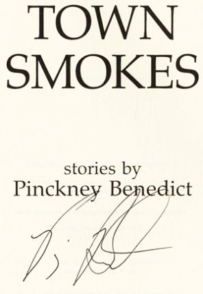 Town Smokes - 1st Edition/1st Printing