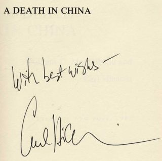 A Death in China - 1st Edition/1st Printing