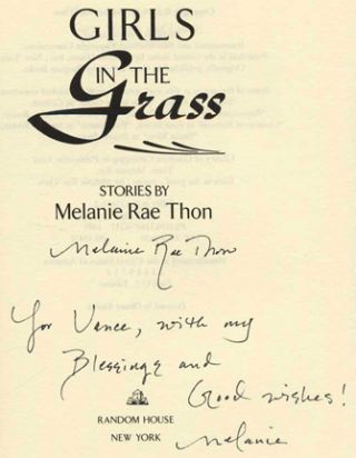 Girls in the Grass - 1st US Edition/1st Printing