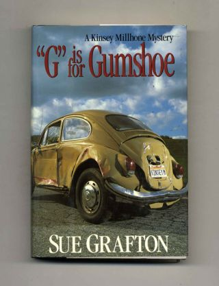 """G"" is for Gumshoe - 1st Edition/1st Printing. Sue Grafton"