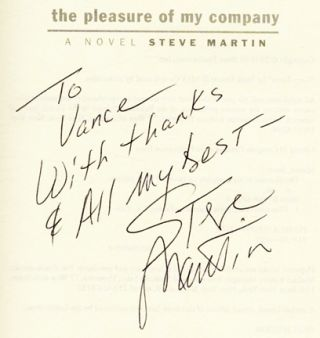 The Pleasure of My Company - 1st Edition/1st Printing