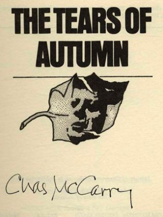 The Tears of Autumn - 1st Edition/1st Printing